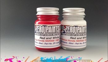Honda NSR500 '84 Paint Set (2x30ml) - Zero Paints