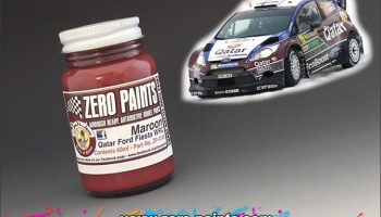 Marron Paint for Qatar Ford Fiesta WRC - Zero Paints