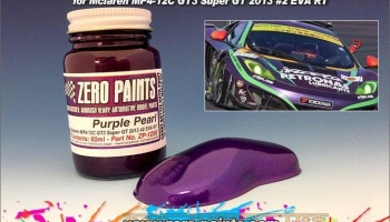 Purple Pearl for Mclaren MP4-12C GT3 Super GT 2013 #2 EVA RT - Zero Paints