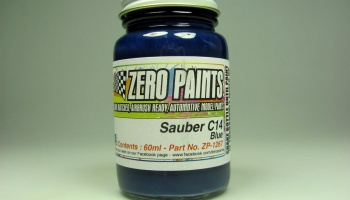 Sauber C14 Dark Blue Paint - Zero Paints