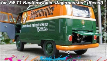 Green and Orange Paints 2x30ml For Revell 07076 - VW T1 Kastenwagen/Jagermeister - Zero Paints