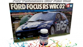 Ford ST Performance Blue (3CVC) Paint 60ml - Zero Paints