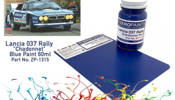 Lancia 037 Rally Chadonnet Blue Paint 60ml - Zero Paints