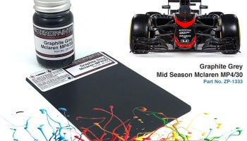 Mclaren MP4/30 Graphite Grey Mid Season Paint 60ml (Ebbro) - Zero Paints