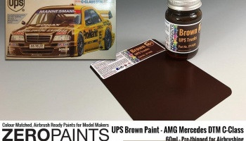 UPS Brown Paint 60ml - Zero Paints