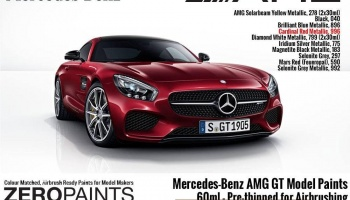 Mercedes-AMG GT Paints 60ml Cardinal Red Metallic - Zero Paints