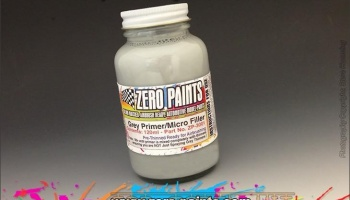 Airbrushing Grey Primer 120ml - Zero Paints
