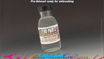 ClearCoat Lacquer (Pre-Thinned) - Zero Paints