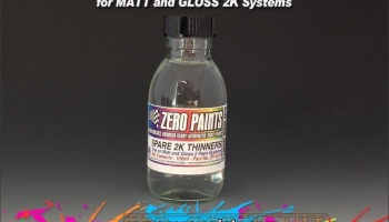Spare 2K Thinners (100ml) - Zero Paints